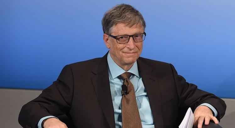 Bill Gates. AFP PHOTO / Christof STACHE