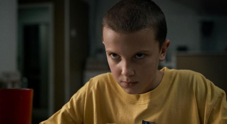 Millie Bobby Brown em Stranger Things / Netflix
