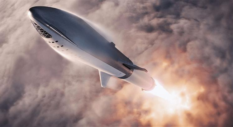 SpaceX BFR Starship (AFP PHOTO /SPACEX/HANDOUT)