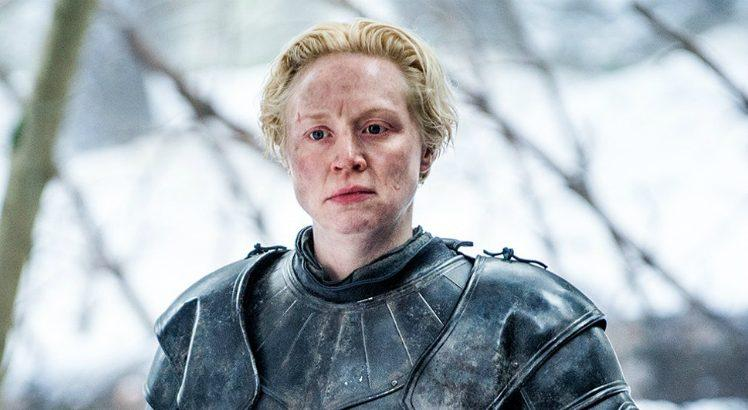 Gwendoline Christie como Brienne de Tarth em Game of Thrones DSTK