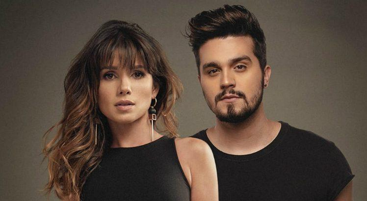 Paula Fernandes e Luan Santana estampam a capa do single Juntos ok