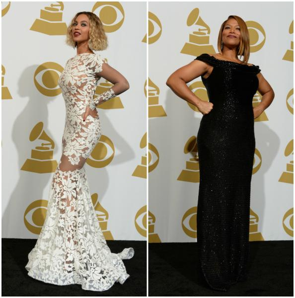 O look delas no Grammy